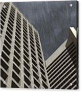 Stoic Buildings Acrylic Print