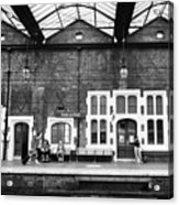 Stoke-on-trent Railway Station Uk Acrylic Print
