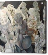 Stone Angels Acrylic Print