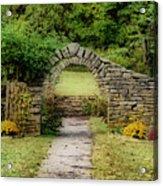 Stone Arches Acrylic Print