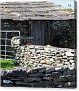 Stone Barn Doolin Ireland Acrylic Print