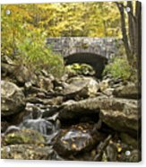 Stone Bridge 6063 Acrylic Print