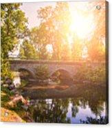 Stone Bridge Acrylic Print