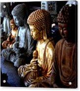 Stone Buddhas Acrylic Print