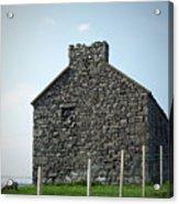 Stone Building Maam Ireland Acrylic Print