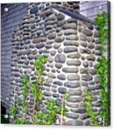 Stone Chimney Acrylic Print