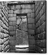 Stone Door Acrylic Print