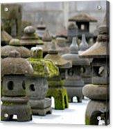 Stone Figures Acrylic Print