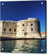 Stone Fortress In Dubrvnik King's Landing Acrylic Print