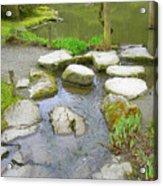 Stone Garden Acrylic Print