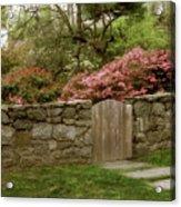 Stone Gate Acrylic Print