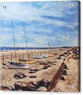 Stone Harbor Acrylic Print by Joyce A Guariglia