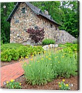 Stone House Fishers Indiana Acrylic Print