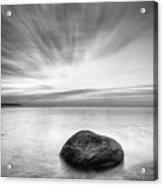 Stone In The Sea Acrylic Print