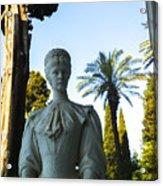 Stone Lady Of Rio Acrylic Print