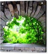 Stone Lookout Acrylic Print