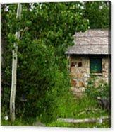 Stone Outhouse 2 Acrylic Print