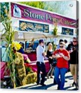 Stone Pony Catering Acrylic Print