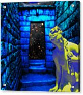 Stone Portal Acrylic Print