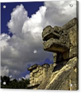 Stone Sky And Clouds Acrylic Print