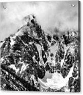 Stone Spire And Bowl Glacier Acrylic Print