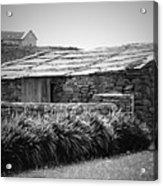 Stone Structure Doolin Ireland Acrylic Print