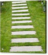 Stone Walkway Acrylic Print
