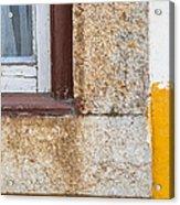 Stone Window Of Portugal Acrylic Print
