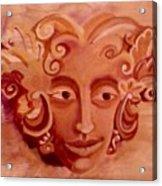 Stone Woman Acrylic Print