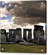 Stonehenge After The Storm Acrylic Print