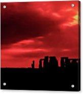 Stonehenge II Acrylic Print