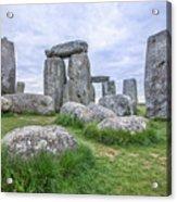 Stonehenge In England Acrylic Print