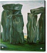 Stonehenge In Spring 2 Acrylic Print