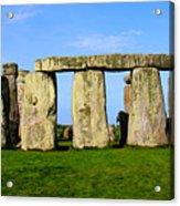Stonehenge No 2 Acrylic Print