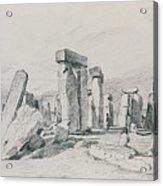 Stonehenge Wiltshire Acrylic Print