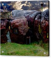 Stonehome Acrylic Print