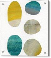 Stones- Abstract Art Acrylic Print