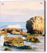 Stones In The Sea Acrylic Print