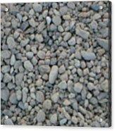 Stones Texture Acrylic Print
