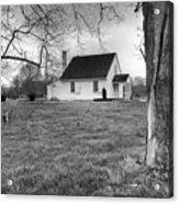 Stonewall Jackson House Acrylic Print by Harry H Hicklin