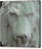 Stonework Leo Acrylic Print