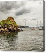Stony Cove, Ireland Acrylic Print