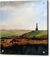 Stoodley Pike Acrylic Print