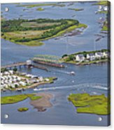 Stopping Traffic Topsail Island Acrylic Print