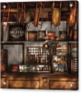 Store - Old Fashioned Super Store Acrylic Print