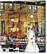 Store Front Wedding Acrylic Print