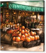 Store - Hoboken Nj - The Fruit Market Acrylic Print