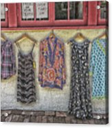 Store Is Closing. Open Thurs - Sun Acrylic Print