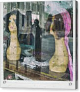 Store Window Stares Acrylic Print