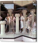 Storefront Window 1982 Acrylic Print